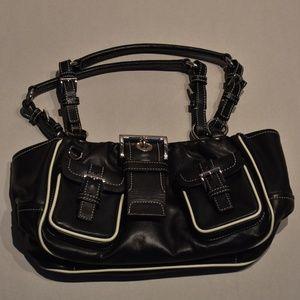 NEW Prada Tessuto Black Leather Sport Shoulder Bag